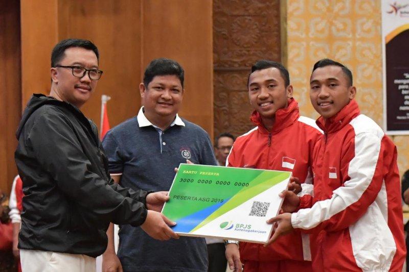 Atlet Indonesia dijamin BPJS Ketenagakerjaan