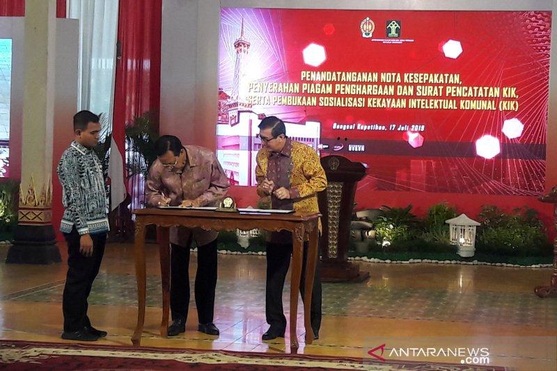 Kemenkumham-Pemda DIY sepakat melindungi kekayaan intelektual komunal