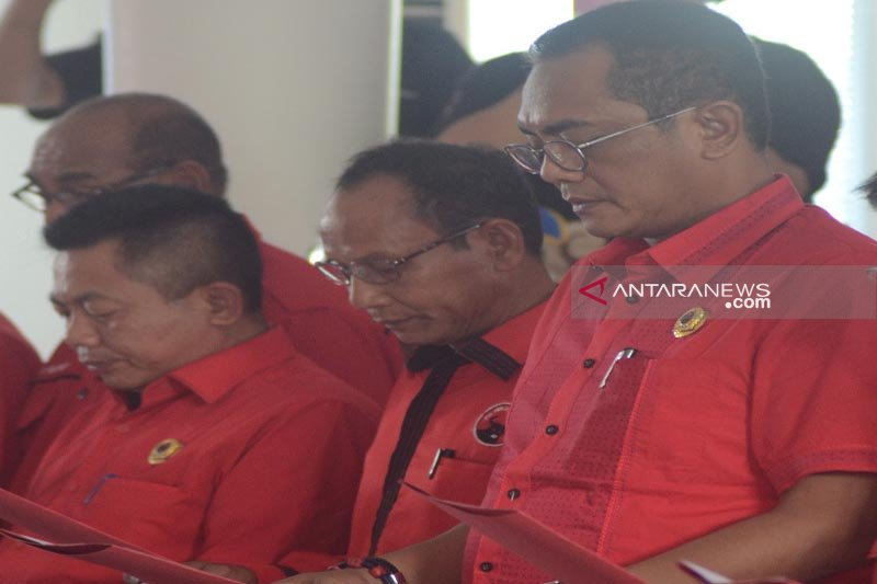 Arton tak menyangka ditunjuk jadi Ketua DPD PDIP Kalteng