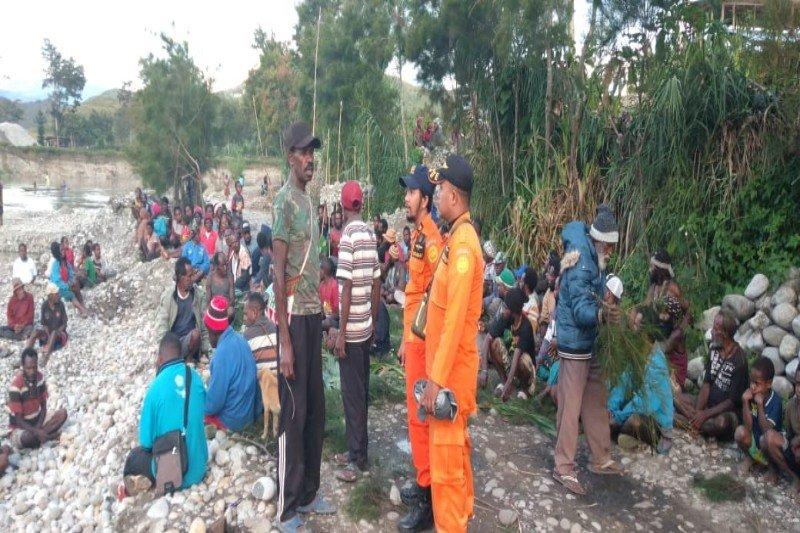 Tim SAR temukan jenazah balita yang hanyut di Kali We, Wamena