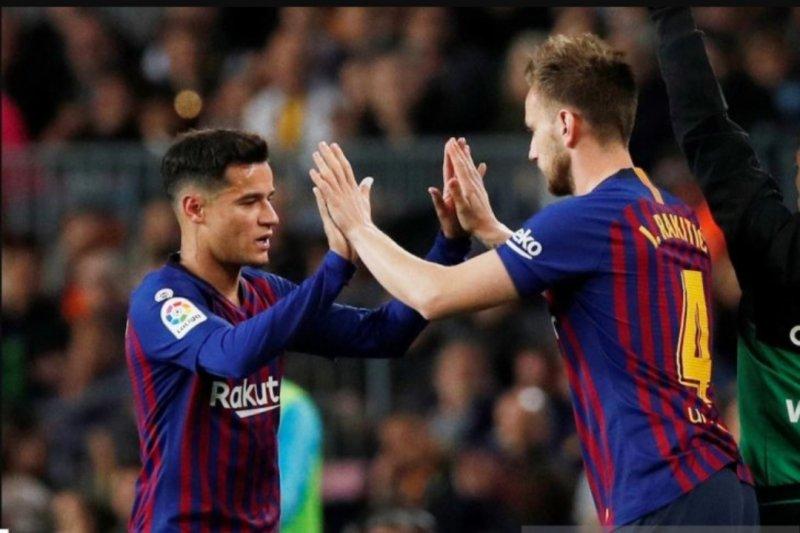 Neymar akan ditukar dengan Coutinho dan Ivan Rakitic