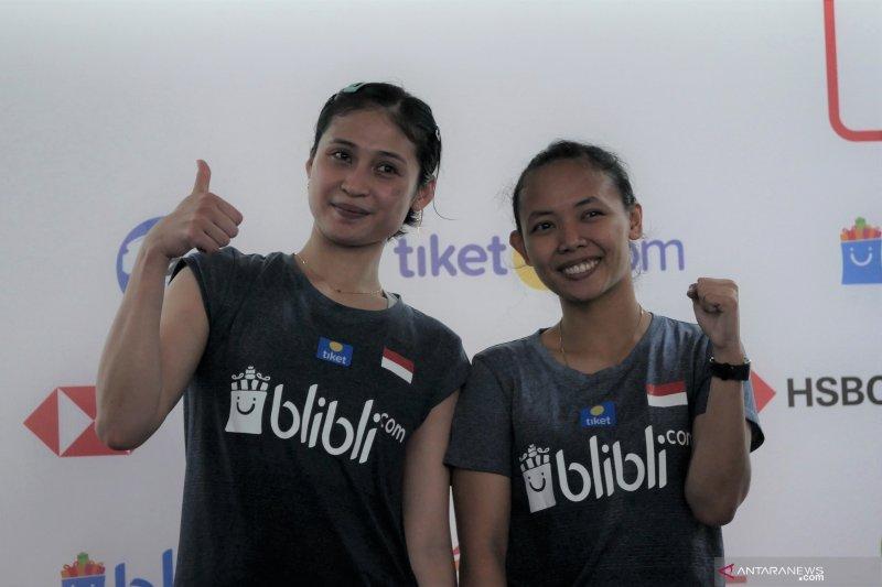 Menang, Della/Rizki tantang unggulan empat asal China di babak kedua