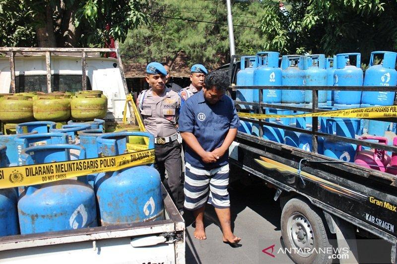 Polisi Solo bongkar pengoplosan elpiji bersubsidi