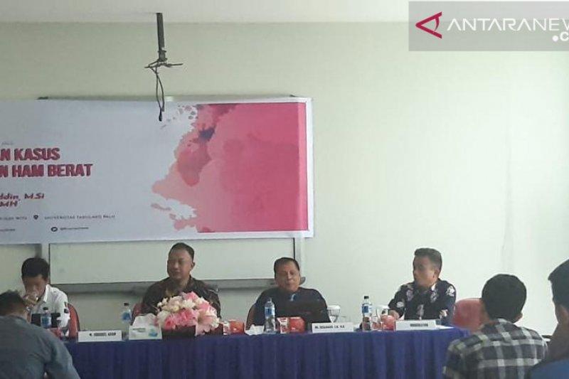 Komnas-HAM dan Untad bahas penyelesaian pelanggaran HAM berat di Palu