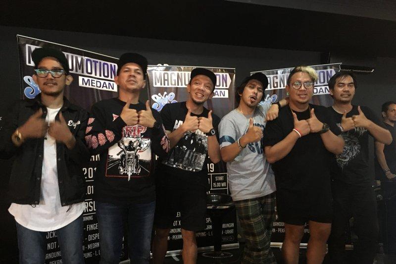 Slank dan pemusik Medan tampil dalam Magnumotion 2019