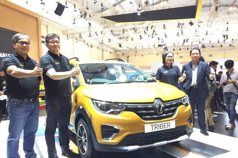 Renault Triber diperkenalkan tanpa harga