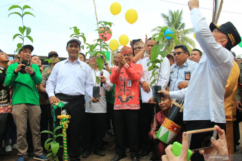 Menteri Pertanian luncurkan program BUN 500 di Kalteng
