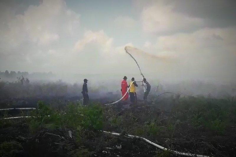 BPBD Sumsel kerahkan seluruh kekuatan, tanggulangi asap karhutla