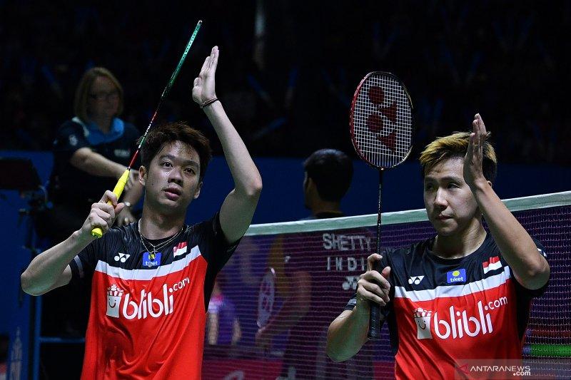 Bulu Tangkis -- Lima wakil Indonesia lolos ke perempat final Blibli Indonesia Open 2019
