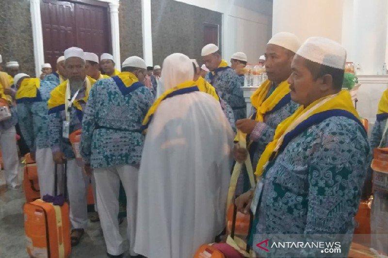 Calon haji Serdang Bedagai ke Mekkah dari dana pensiunan