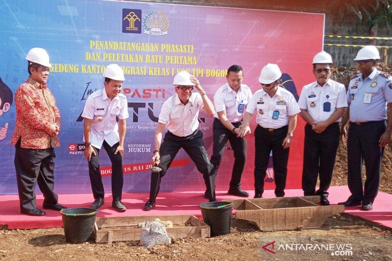 Kemenkumham bangun Kantor Imigrasi senilai Rp45 miliar di Bogor