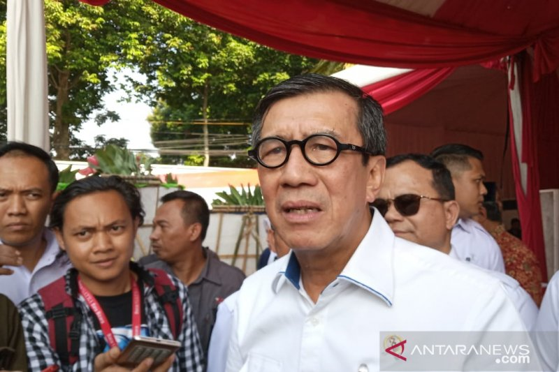 Yasonna sebut persoalan dengan Wali Kota Tangerang usai
