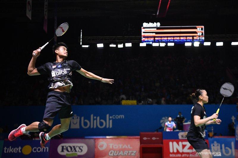 Tiket perempat-final Blibli Indonesia Open 2019 jadi kado ultah Tontowi Ahmad
