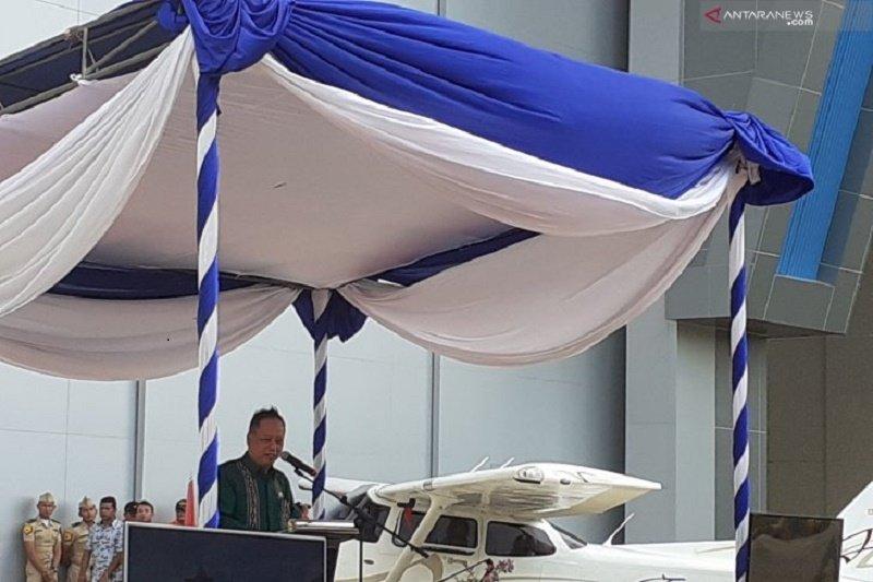 Menristekdikti resmikan hanggar perawatan pesawat udara di Batam