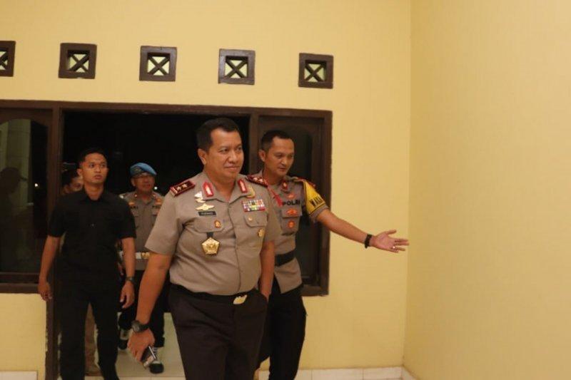 Kapolda Lampung kunjungi lokasi bentrok di Mesuji