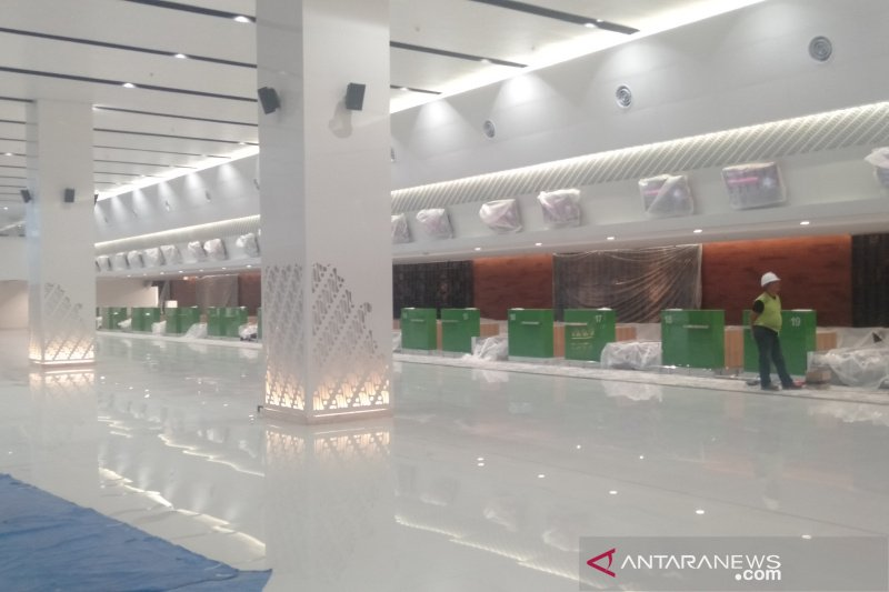 Terminal baru Bandara Adi Soemarmo kental nuansa Jawa