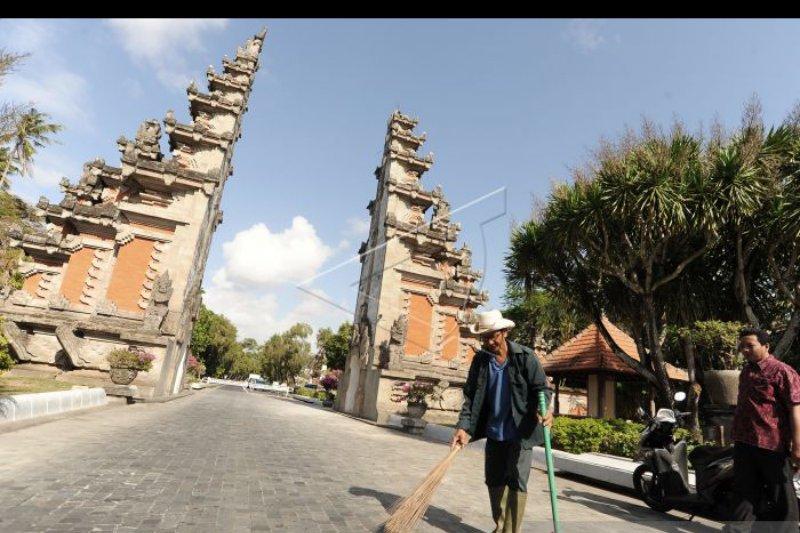 Pascagempa Gapura The Nusa Dua mulai diperbaiki