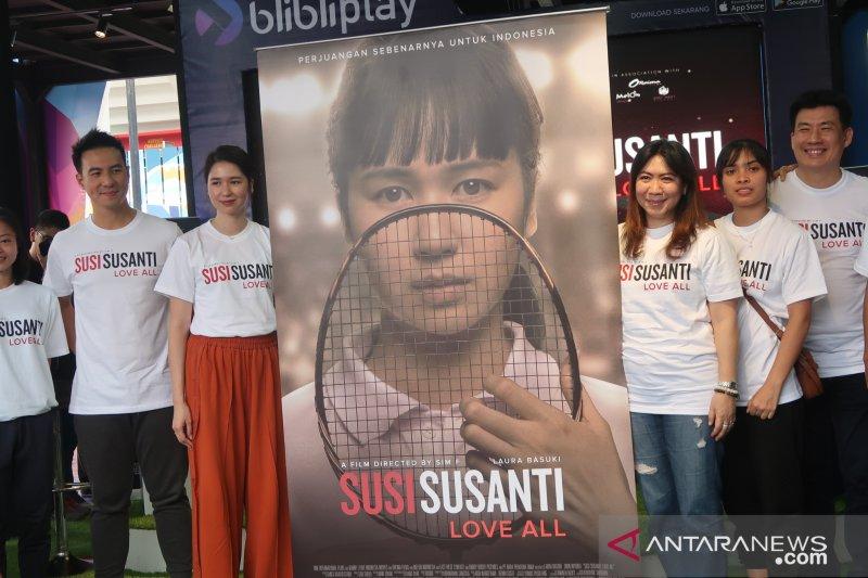 """Susi Susanti - Love All."",  Kisah Susi Susanti diangkat ke layar lebar"