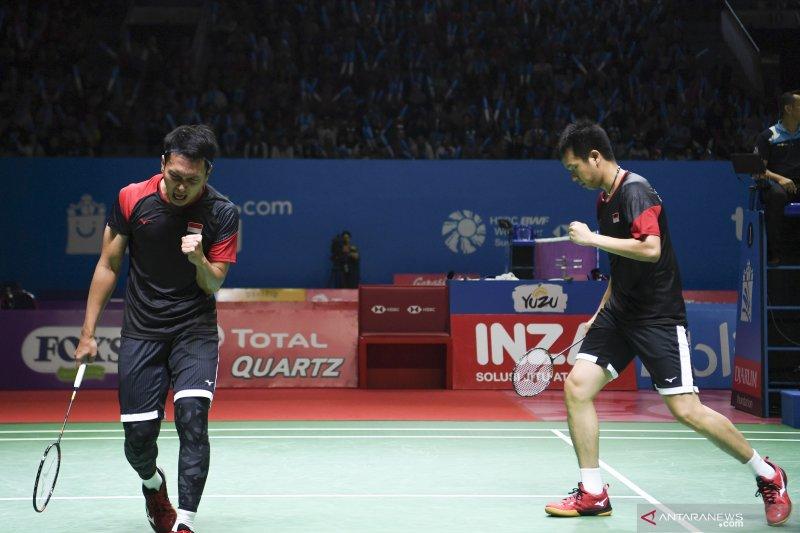 Hendra/Ahsan ke final Indonesia Open