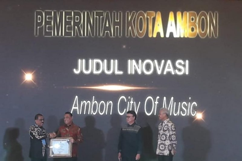 """Ambon City Of Music"" masuk Top 45 kompetisi inovasi"