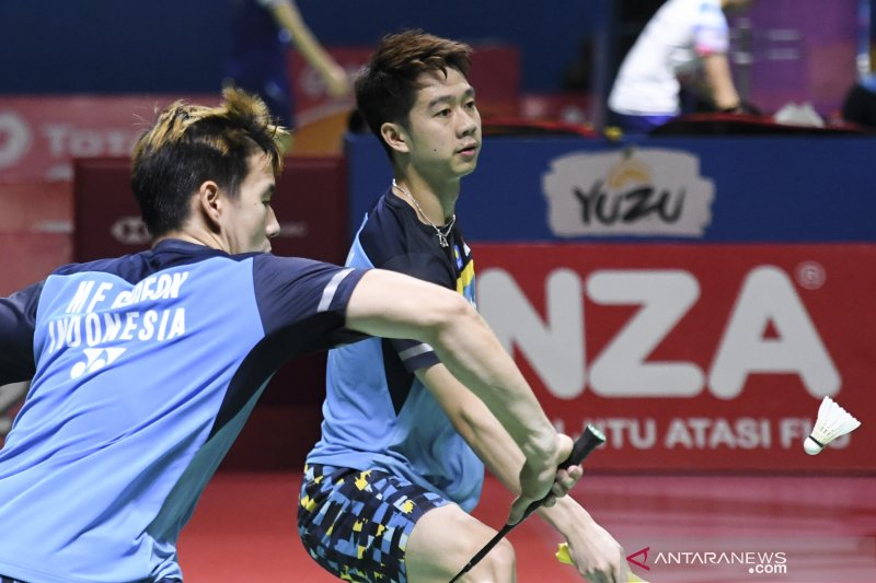 Dua wakil Indonesia melaju ke semifinal Indonesia Open