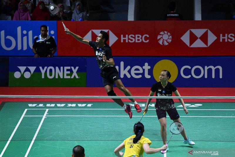 Indonesia tak miliki wakil ganda campuran di Blibli Indonesia Open 2019