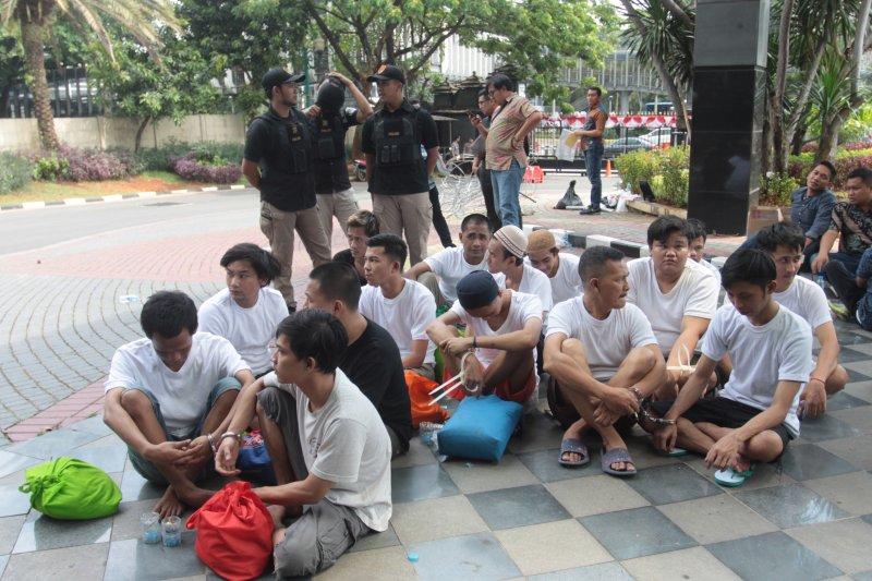 Polda Metro Jaya limpahkan berkas perkara tersangka ricuh 21-22 Mei
