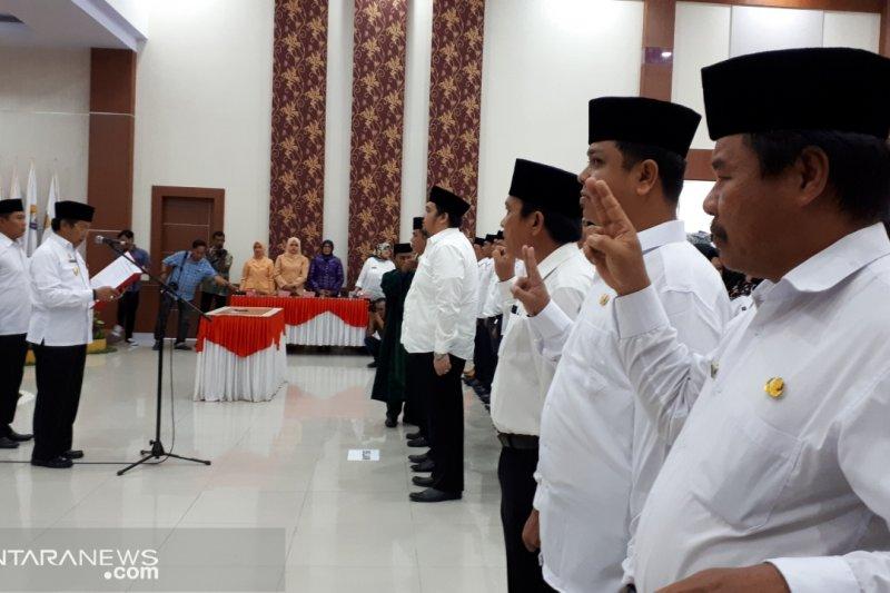 Puluhan pejabat OPD Sulteng dirotasi karena tak capai target