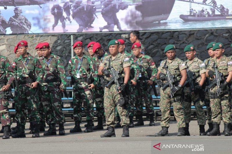 Tentara Indonesia dan Malaysia belajar tanggulangi teroris di Bogor