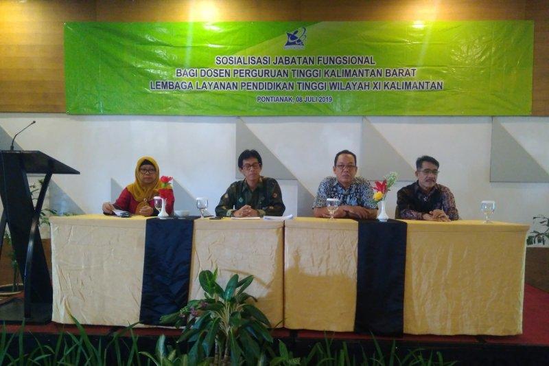 LLDIKTI Wilayah XI kembangkan profesionalisme dosen Kalimantan