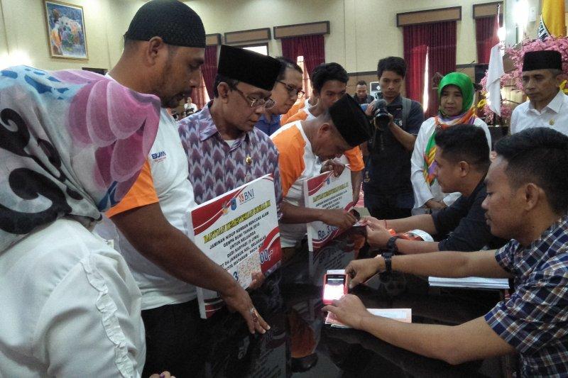 2.010 KK korban gempa 2018 Mataram terima bantuan senilai Rp4,4 miliar