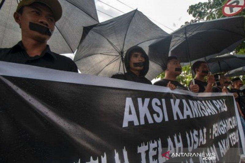 Aksi Kamisan ke-12 di Palu