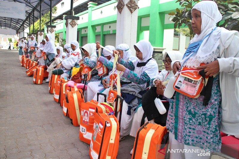 Embarkasi Surakarta sudah berangkatkan seluruh jamaah calon haji gelombang pertama