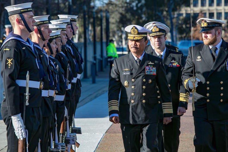 Laksamana TNI Siwi Adji tingkatkan hubungan dengan AL Australia