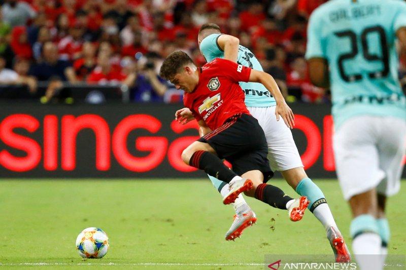 Manchester United bungkam Inter Milan di Singapura