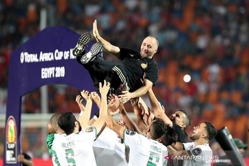 Belmadi berjaya  bawa  Aljazair raih Piala Afrika 2019