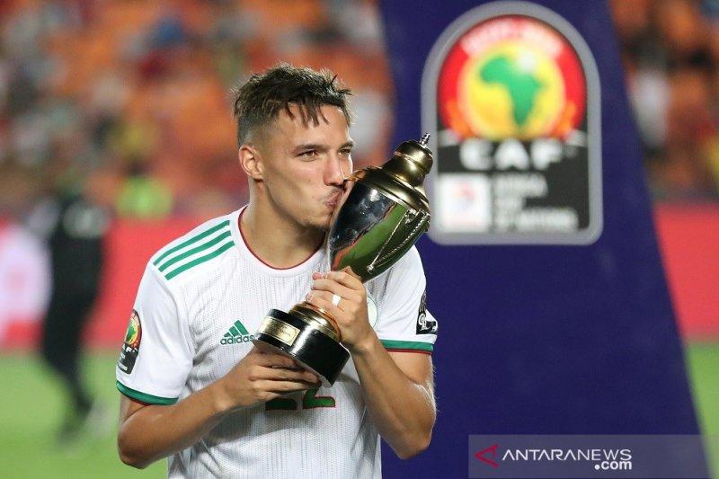 Ismael Bennacer rebut pemain terbaik Piala Afrika 2019