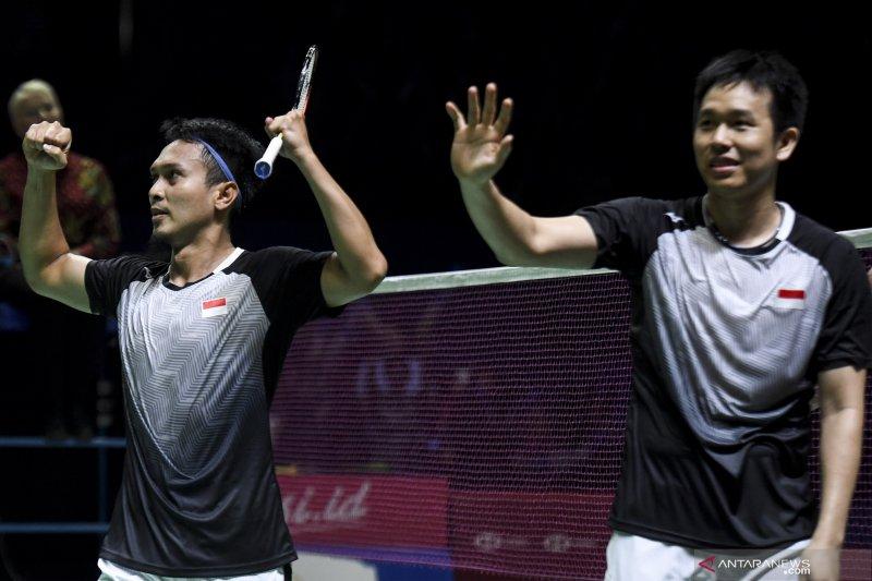 Ahsan/Hendra melaju ke final Indonesia Open 2019