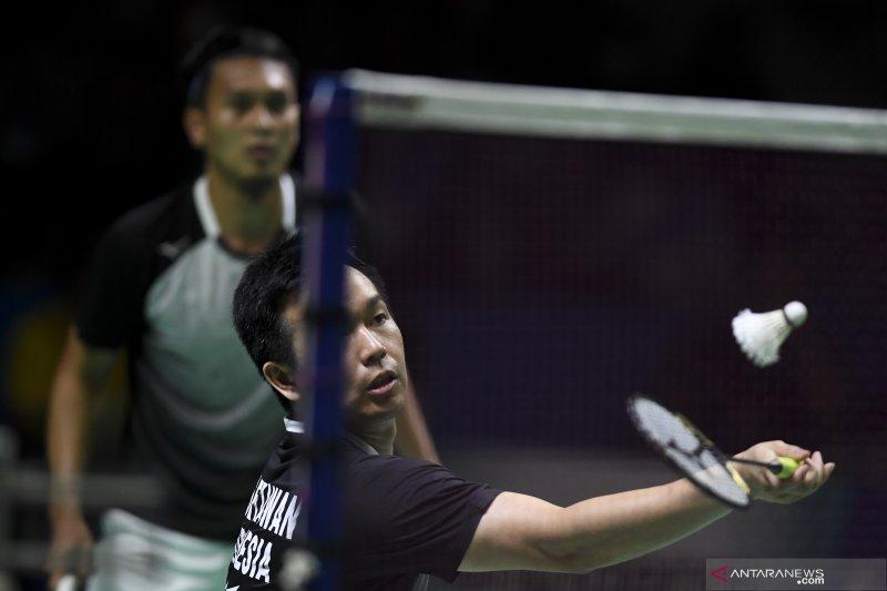 Hendra/Ahsan akan hadapi pasangan Korea Selatan di perempat final