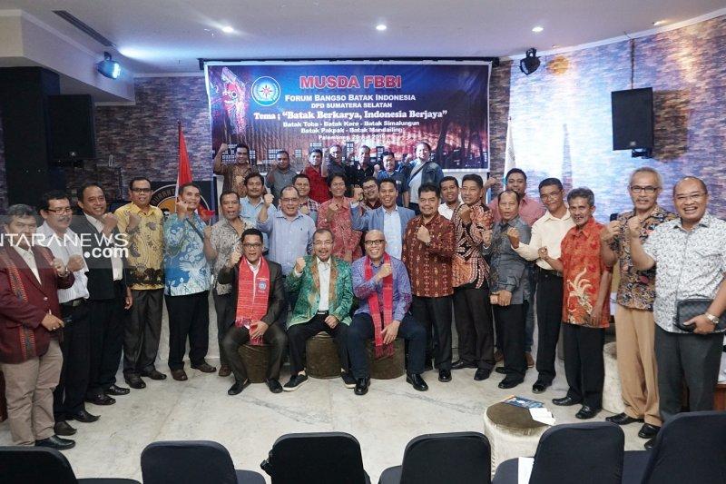 Jimmy Lumban Gaol pimpin DPD Forum Bangso Batak Sumsel