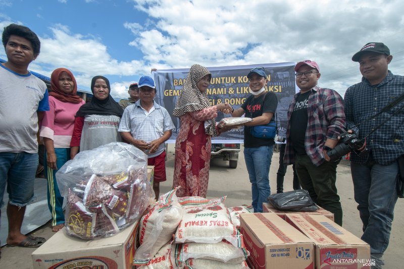Donasi Pewarta Foto Indonesia untuk korban bencana