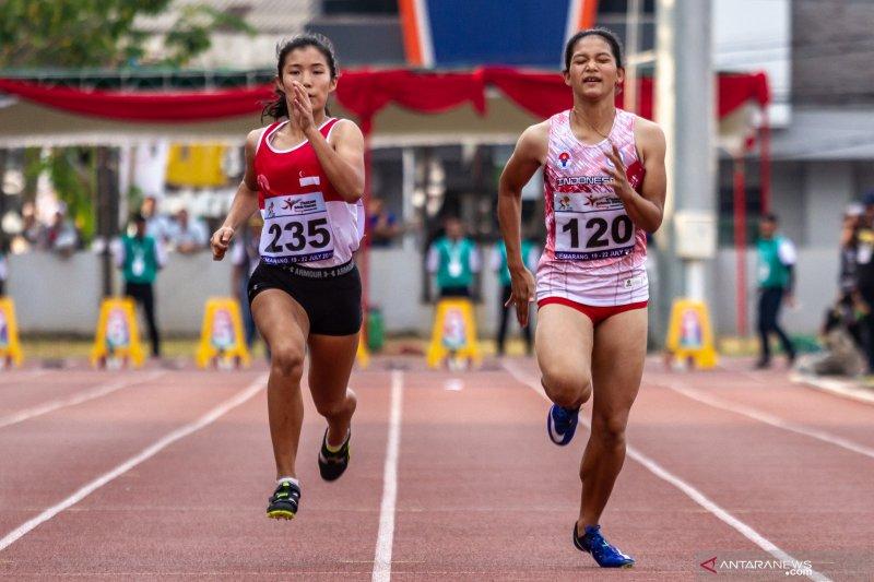 Tim estafet putra-putri raih medali emas ASG 2019