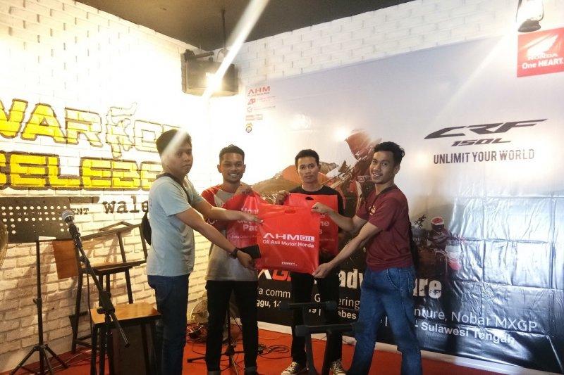 CV. Anugerah Perdana gelar Nobar MXGP Semarang 2019 bersama komunitas CRF