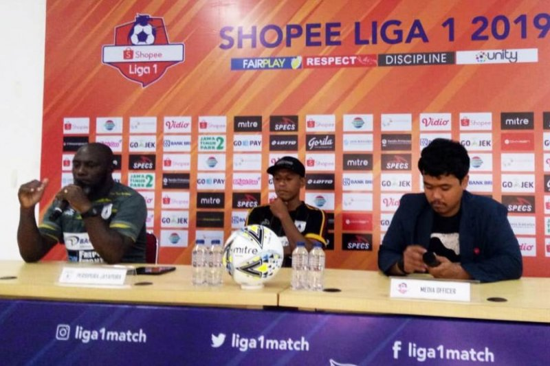Jacksen : pemain Persipura siap tempur lawan Bhayangkara FC