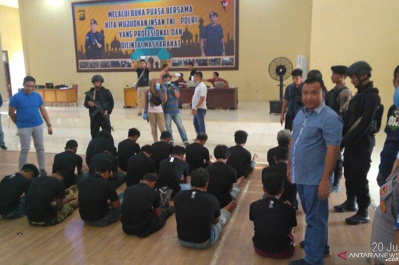 Polda Jambi kembali ringkus 18 anggota SMB