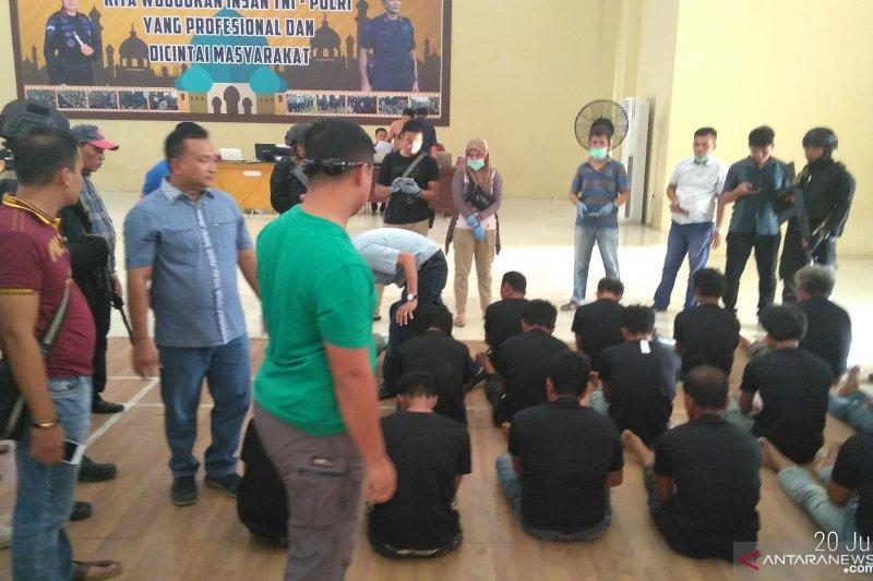 Polisi Jambi tetapkan 41 tersangka penganiayaan Tim Satgas Karhutla