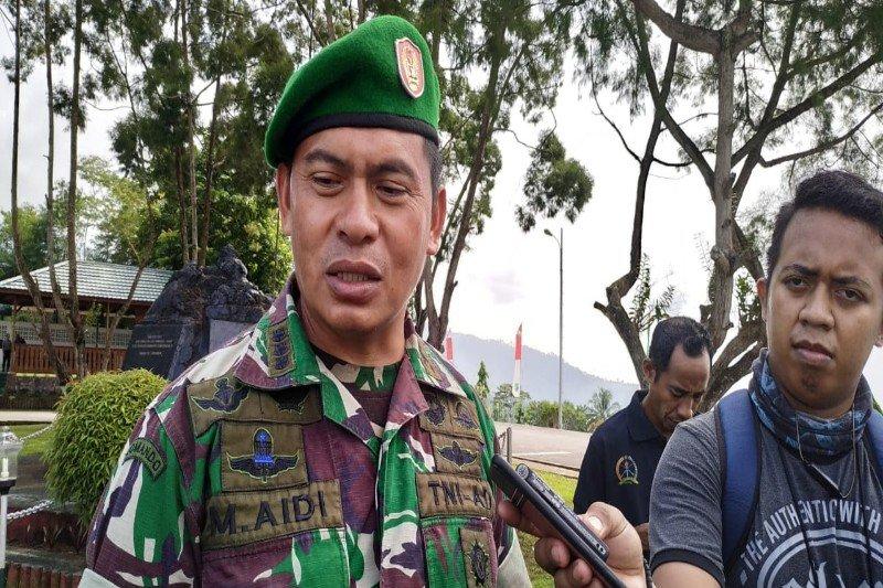 Kontak senjata di Nduga,  satu prajurit tertembak