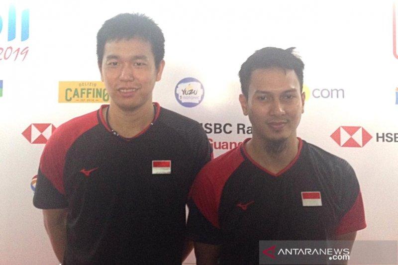 Hendra/Ahsan ingin tampil maksimal di laga final Indonesia Open
