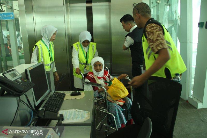 Jamaah kloter 1 Balikpapan sudah tiba di Madinah