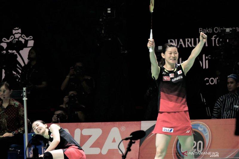 Ganda putri Jepang melaju ke final